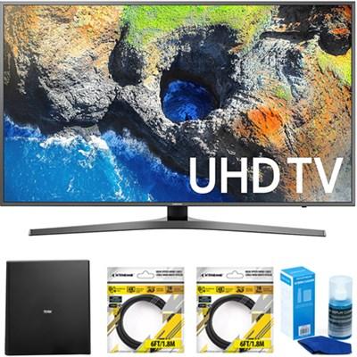 54.6` 4K Ultra HD Smart LED TV 2017 Model with Antenna Bundle