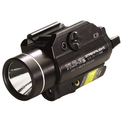 69230 TLR-2s Rail Mounted Strobing Tactical Light with Laser Sight (Black)