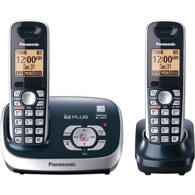 KX-TG6572C DECT 6.0 Plus Expandable Digital Cordless Telephone