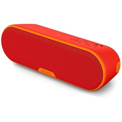 SRS-XB2 Portable Wireless w/Bluetooth - Red - OPEN BOX