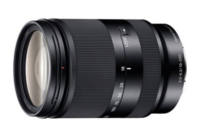 SEL18200LE  Zoom lens - 18mm- 200 mm - f/3.5-5.6 OSS    **OPEN BOX**