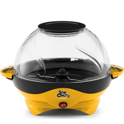 82310Y Stir Crazy 2 Popcorn Popper - Yellow