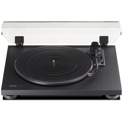 TN-100 Belt-Drive Turntable with Preamp & USB Digital Output - Black