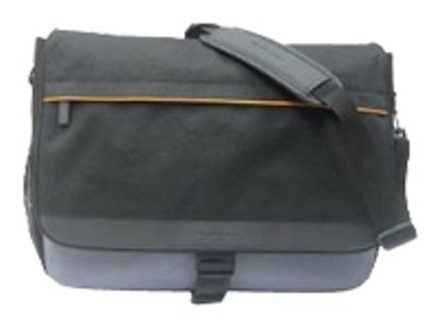 Messenger Notebook Case -for notebook up to 15.4`-Black, Cool Gray(41N5677)