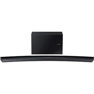 HW-J8500 - Curved 9.1 Channel 350 Watt Wireless Audio Soundbar (Black)