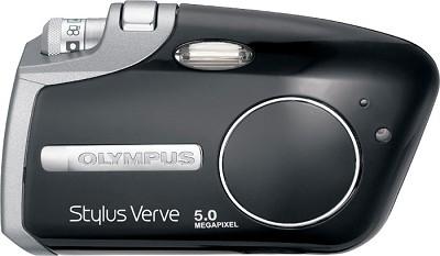 Stylus Verve S 5MP Digital Camera (Black Piano Finish)