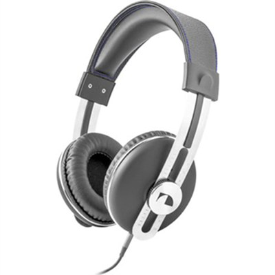 NK2030 Over the Ear Retro Stereo Headphone - Gray - OPEN BOX