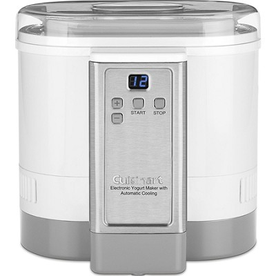 CYM-100 Electronic Yogurt Maker with Automatic Cooling - White