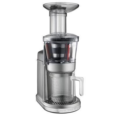 Maximum Extraction Juicer in Contour Silver - KVJ0111CU