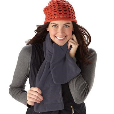 Cozy Spot Battery Operated Heated Scarf (Slate) - SCRF825-IND