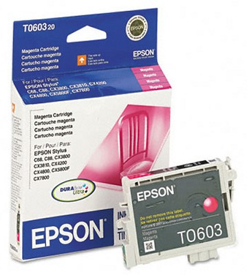 Magenta Ink Cartridge for Epson Stylus CX Series All-in-ones / Stylus C88