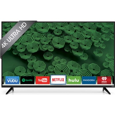 D50u-D1 D-Series - 50-Inch 120Hz 4K Ultra HD LED Smart HDTV - OPEN BOX