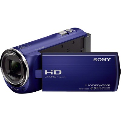 HDR-CX220/L Full HD Camcorder (Blue)