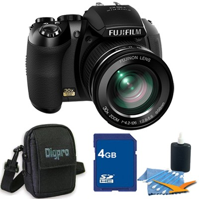 FinePix HS20 16 MP Digital Camera with EXR BSI CMOS Sensor 4GB Bundle