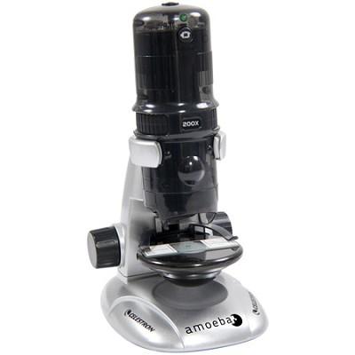 Amoeba Dual Purpose Digital Microscope 44326 - (Grey)
