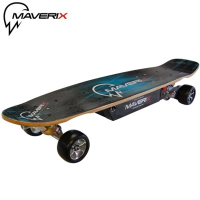 600 Watt Electric Skateboard Cruiser: Longboard Cruising