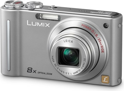 DMC-ZR1S LUMIX 12.1 MP 8x Zoom Digital Camera (Silver)