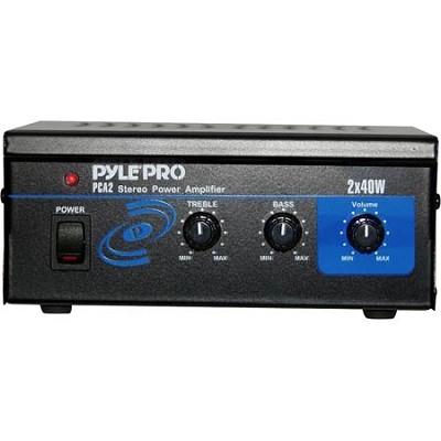 Home PCA2 Mini 2 x 40-Watt Stereo Power Amplifier