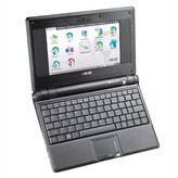 EEE PC 4G Galaxy Black [Linux operating system]