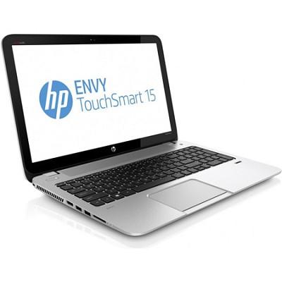 ENVY TouchSmart 15.6` 15-j020us Notebook PC AMD Elite Quad-CoreA8-5550M OPEN BOX