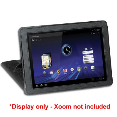 V2 Case Genius for Motorola Xoom - Black