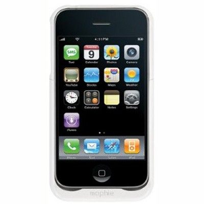 Juice Pack Air | iPhone 3G | White - `REFURBISHED` (Minor Blemishes)