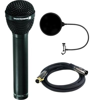 Dynamic Microphone Hypercardioid Polar Pattern f/ Vocals, Drum w/ Filter Bundle