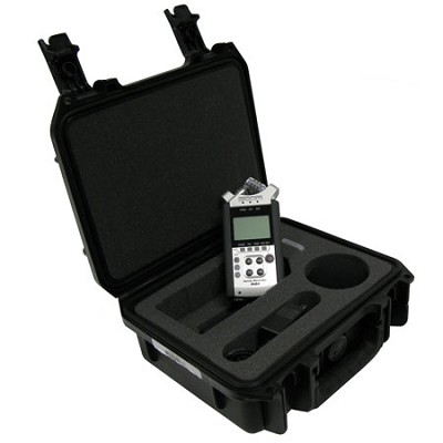 SKB Waterproof iSeries Equipment Case for Zoom H4N Recorder 3I0907-4B-01