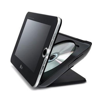 DP889 - Portable DVD Player w/ 8-inch Digital Photo Frame & 3-n-1 Memory Slot