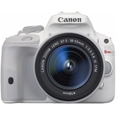 EOS Rebel SL1 Digital SLR Camera with EF-S 18-55mm IS STM Lens - White