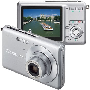 Exilim EX-Z60 Slim Digital Camera (Silver)