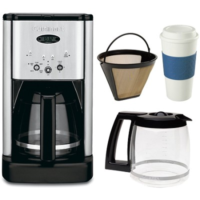 DCC-1200 Brew Central 12 Cup Coffeemaker Coffee Lover Bundle
