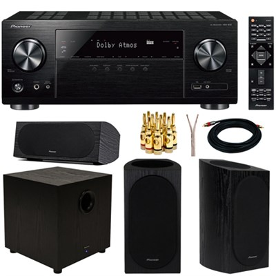 5.1-Channel Network AV Receiver UHD Pass-through HDCP 2.2 Exclusive Bundle