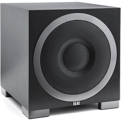 Debut Series S10EQ 400W Powered Subwoofer DS10EQ1-BK with Bluetooth Control