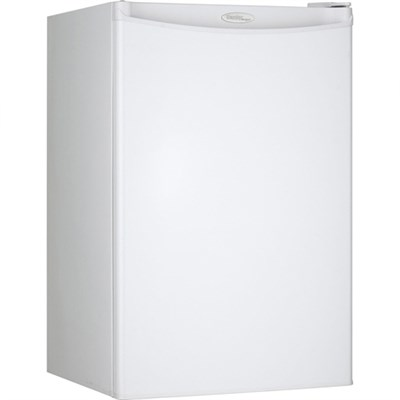 Designer 4.4 Cu.Ft. Compact Refrigerator in White - DCR044A2WDD