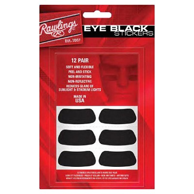 Eye Black Adhesive Stickers