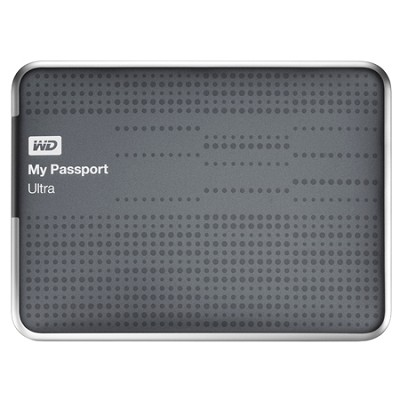 My Passport Ultra 1 TB USB 3.0 Portable HD - WDBZFP0010BTT (Titanium) - OPEN BOX