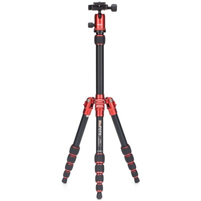 A0350Q0R Backpacker Travel Tripod Kit - Red