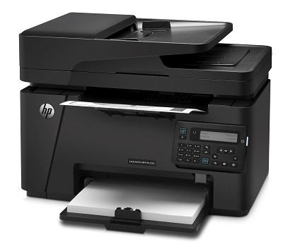 M127FN Networked Monochrome Laserjet Printer with Scanner, Copier/Fax - OPEN BOX