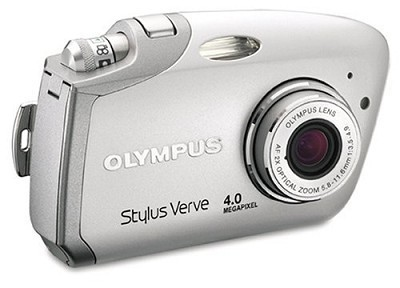Stylus Verve Digital Camera (SILVER)