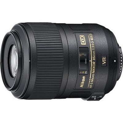 AF-S DX Micro NIKKOR 85mm f/3.5G ED VR Lens - Refurbished