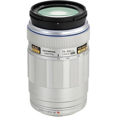 MSC ED M.75-300mm f4.8-6.7 Silver Super Telephoto Zoom Lens
