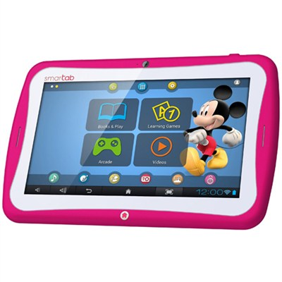 Smart Tab 7` Tablet Disney Content Dual Core - Pink - OPEN BOX