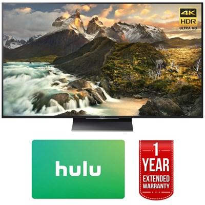 XBR-65Z9D 65-inch 4K Ultra HD LED TV w/ Hulu $100 Gift Card