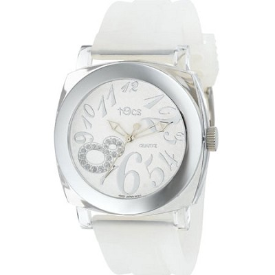 40113 Analog Round  FROST-CLEAR