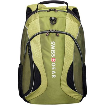 Swissgear The Mercury Deluxe 16` Laptop Backpack (Olive Green)