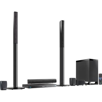 SC-BTT770 5.1 Channel 3D Blu-Ray WiFi Cinema Surround Home Entertainment System