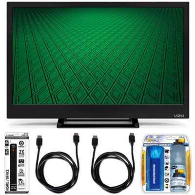 D24hn-D1 - D-Series 24-Inch Edge-Lit LED TV Accessory Bundle