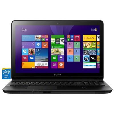 Fit 15E SVF15328CXB 15.5` Touchscreen Black Notebook - Intel Core i7-4500U Proc.