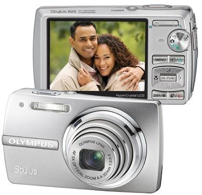 Stylus 820 Digital Camera (Silver)